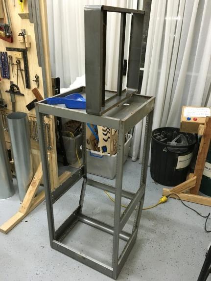 sanding metal