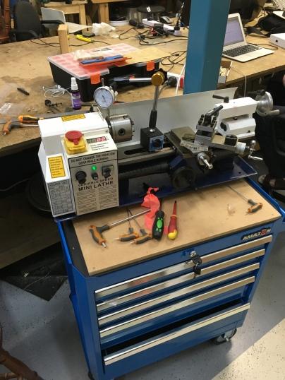 Lathe tool box_